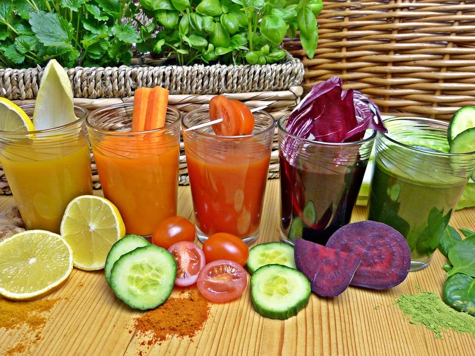 zdrowe soki z sokowirówki
